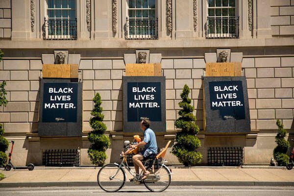 Black Lives Matter Banners
